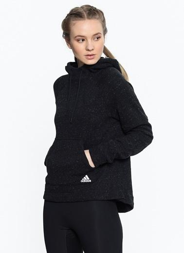Kapüşonlu Polar Sweatshirt-adidas